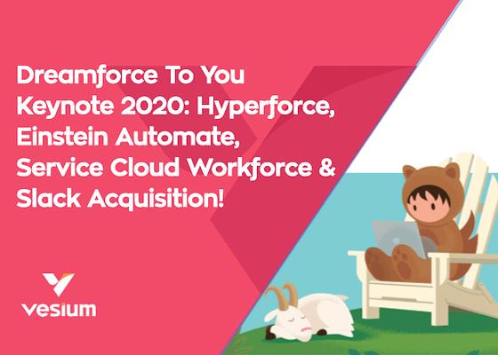 Dreamforce 2020, keynotes!